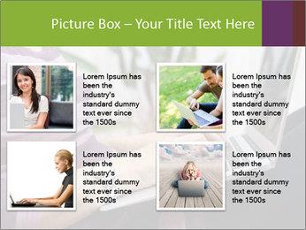 Woman Freelancer PowerPoint Template - Slide 14