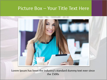 Woman Freelancer PowerPoint Template - Slide 15