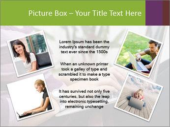 Woman Freelancer PowerPoint Template - Slide 24