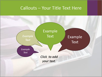 Woman Freelancer PowerPoint Template - Slide 73