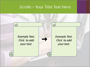 Woman Freelancer PowerPoint Template - Slide 74