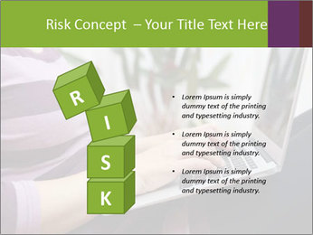 Woman Freelancer PowerPoint Template - Slide 81