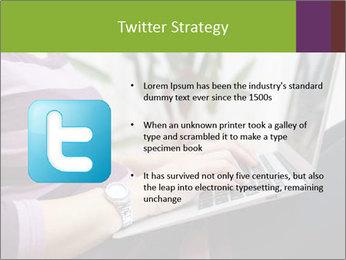 Woman Freelancer PowerPoint Template - Slide 9