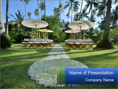 Wedding Ceremony Design PowerPoint Template