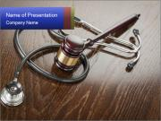 Medical Crime PowerPoint Template