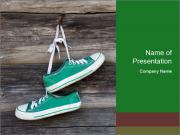 Green Converse PowerPoint Template