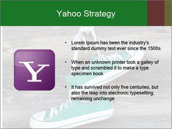 Green Converse PowerPoint Template - Slide 11