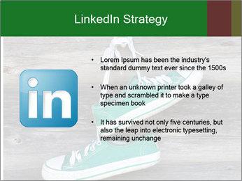 Green Converse PowerPoint Template - Slide 12
