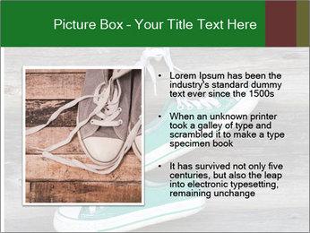 Green Converse PowerPoint Template - Slide 13