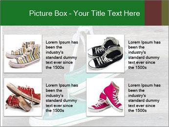 Green Converse PowerPoint Template - Slide 14