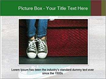 Green Converse PowerPoint Template - Slide 16