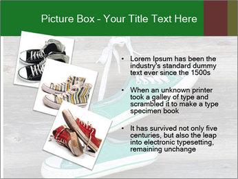 Green Converse PowerPoint Template - Slide 17