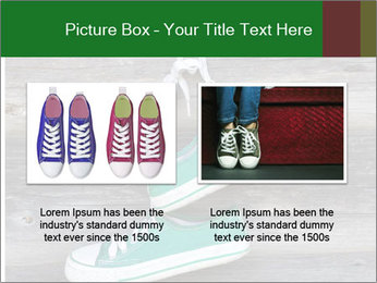 Green Converse PowerPoint Template - Slide 18