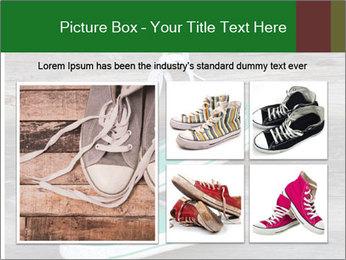 Green Converse PowerPoint Template - Slide 19