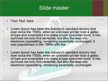 Green Converse PowerPoint Template - Slide 2
