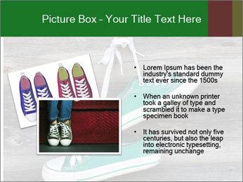 Green Converse PowerPoint Template - Slide 20