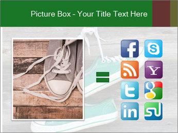 Green Converse PowerPoint Template - Slide 21