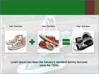 Green Converse PowerPoint Template - Slide 22