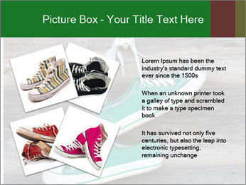 Green Converse PowerPoint Template - Slide 23