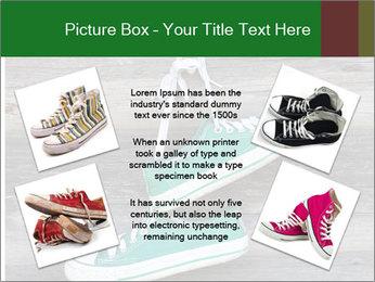 Green Converse PowerPoint Template - Slide 24