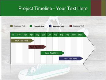Green Converse PowerPoint Template - Slide 25