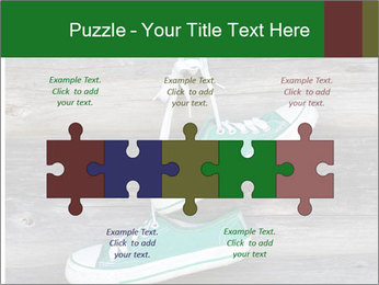 Green Converse PowerPoint Template - Slide 41