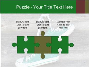 Green Converse PowerPoint Template - Slide 42