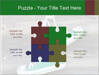 Green Converse PowerPoint Template - Slide 43
