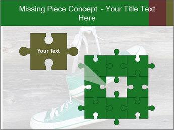 Green Converse PowerPoint Template - Slide 45