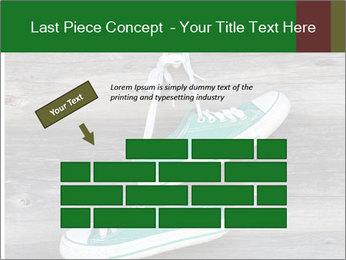 Green Converse PowerPoint Template - Slide 46