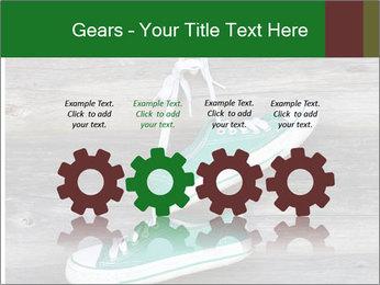 Green Converse PowerPoint Template - Slide 48