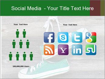 Green Converse PowerPoint Template - Slide 5
