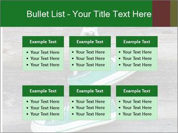 Green Converse PowerPoint Template - Slide 56