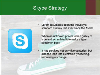Green Converse PowerPoint Template - Slide 8