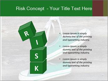 Green Converse PowerPoint Template - Slide 81