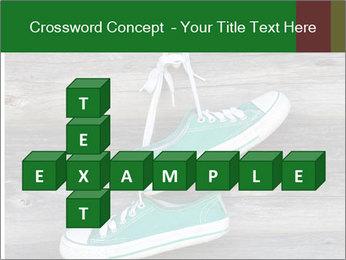 Green Converse PowerPoint Template - Slide 82