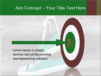 Green Converse PowerPoint Template - Slide 83