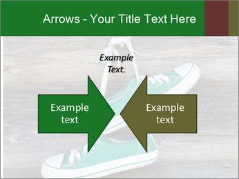 Green Converse PowerPoint Template - Slide 90