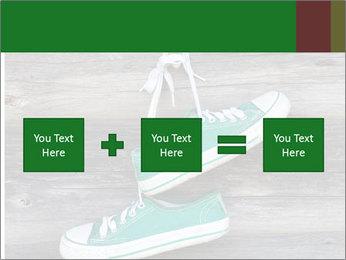 Green Converse PowerPoint Template - Slide 95