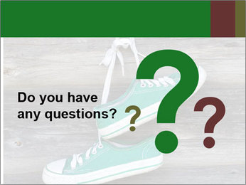 Green Converse PowerPoint Template - Slide 96