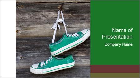Green Converse PowerPoint Template