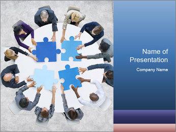 Organized Team PowerPoint Template - Slide 1