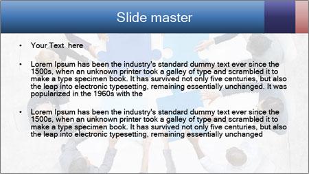 Organized Team PowerPoint Template - Slide 2