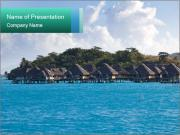Maldives Island PowerPoint Template