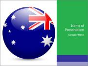 Flag Ball PowerPoint Template