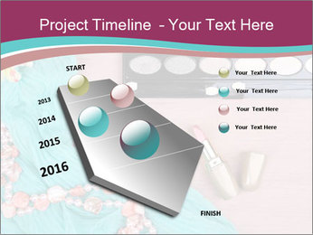Eye Shadow Set PowerPoint Template - Slide 26