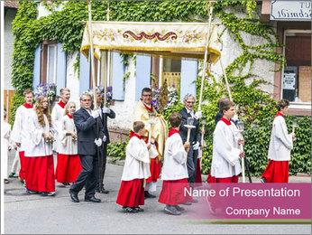 German Religious Festival PowerPoint Template - Slide 1