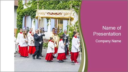 German Religious Festival PowerPoint Template