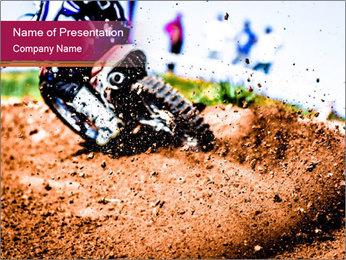 Motocross PowerPoint Template