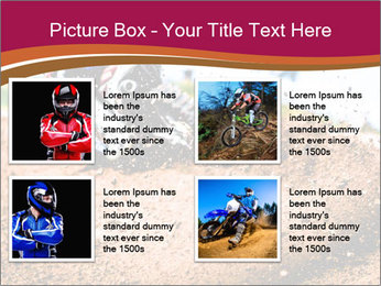 Motocross PowerPoint Template - Slide 14